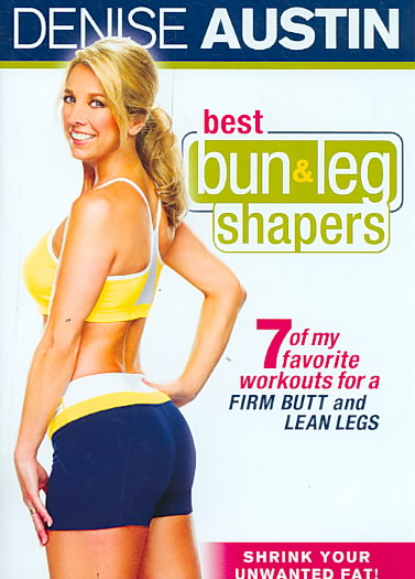 DENISE AUSTIN:BEST BUN & LEG SHAPERS BY AUSTIN,DENISE (DVD)